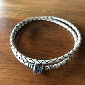 Pandora Leather Charm Bracelet